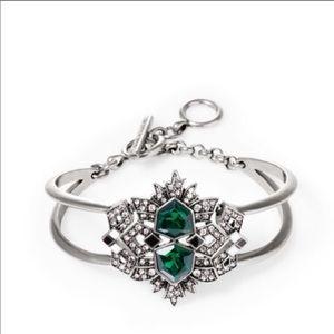 Chloe+Isabel Green Maven Deco Cuff Bracelet